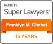 Frank Super Lawyer 15 Years